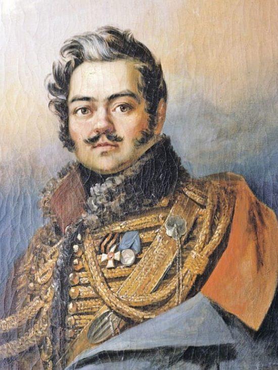 Д.В.Давыдов (1784-1839) 235 лет со дня рождения